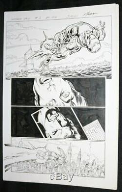 Ultimate End #3 p. 22 Great Iron Man Flying 2015 art by Mark Bagley