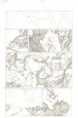 Ultimate Wolverine Vs. Hulk #5 p. 13 Wolverine's Severed Torso art by Leinil Yu