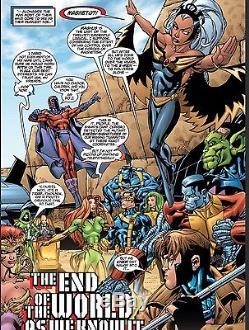 Uncanny x-men, Original Comic Art, Marvel Comics, Scott Hanna/Tom Raney