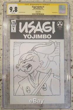 Usagi Yojimbo #1 (2019 IDW) Original Art Sketch Stan Sakai CGC 9.8