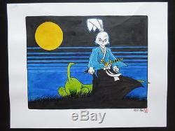 Usagi Yojimbo 1988 (Original Art) Illustration Watercolored! Stan Sakai Tokage