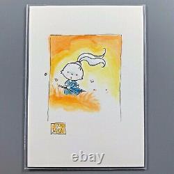 Usagi Yojimbo JULIE SAKAI Original Art Watercolor Sketch Card Stan Sakai