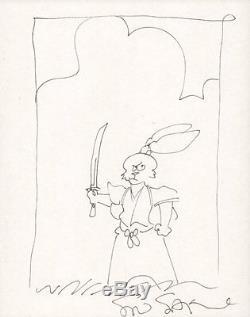 Usagi Yojimbo (Rabbit Bodyguard) Sketch Signed art by Stan Sakai