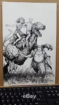 VALIANT Archer&Armstrong # 6 Original cover Art BWS 1992