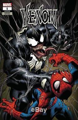 Venom #1 Mark Bagley Variant Cover Original Artwork Signed & Framed Beautiful