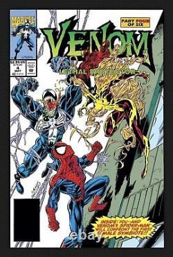 Venom Lethal Protector 4 Ron Lim Original Splash Page Published Art 1st SCREAM