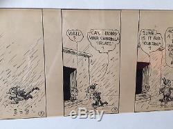 Very Early George Herriman Krazy Kat 12/31 1917