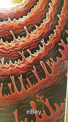 Virgil Finlay Original Art Cover of Fantastic Universe Nov. 1959 15 x 10 3/4