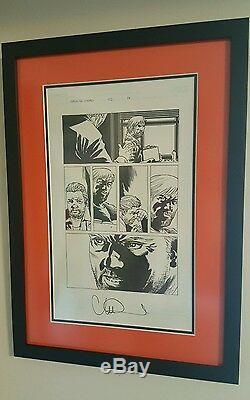 Walking Dead Issue 102, p14 Original Comic Art Rick Grimes Ammo Charlie Adlard