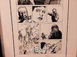 Walking Dead Original Comic Book Art #41 Page 9 Charlie Adlard Image Comics
