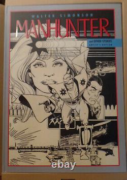 Walter Simonson Big Original Art Manhunter Artists Edition IDW Batman DC HC