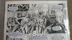 Warren VAMPIRELLA #84 Page 13 original art signed by Jimmy Janes