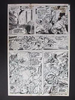 Werewolf By Night #9 MARVEL 1973 (Original Art) Page 25 by Tom Sutton