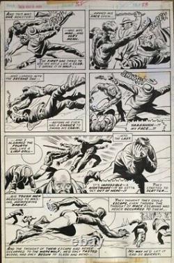 Werewolf by Night 38 page 23 Original Art By Don Perlin
