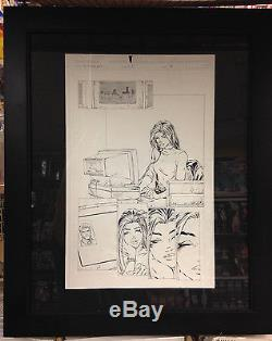 Witchblade (1996) #5 Page 18 Michael Turner Original Inked Art Interior Page