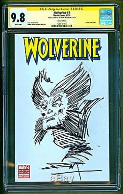 Wolverine #1 2010 Marvel Comics Sketch & Signed Frank Miller CGC 9.8 NO RESERVE