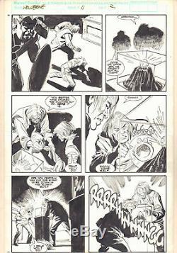 Wolverine #11 p. 2 Robbery 1989 art by John Buscema and Bill Sienkiewicz