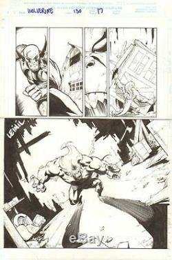 Wolverine #130 p. 17 Wendigo 1998 art by Leinil Francis Yu