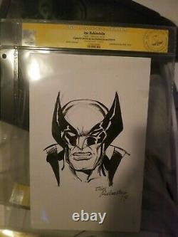 Wolverine CGC Joe Rubinstein Sketch