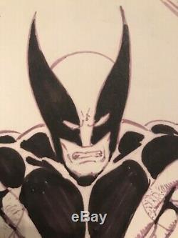 Wolverine-Original Art Sketch Commission Bob McLeod