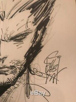 Wolverine-Original Art Sketch Commission Marc Silvestri