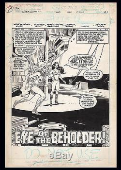 Wonder Woman #287 Title Splash Art by Don Heck Teen Titans Starfire Wonder Girl