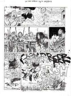 Wonder Woman Dead Earth 1 Pg 38 ORIGINAL Comic ART