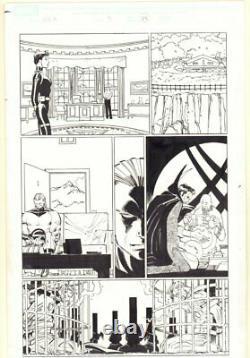 World War Hulk #3 p. 25 Doctor Strange & Sentry 2007 art by John Romita Jr