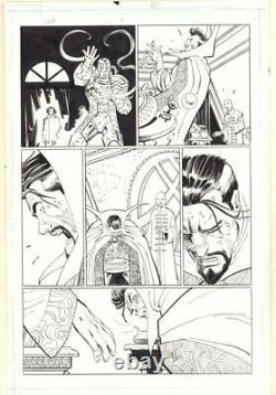 World War Hulk #3 p. 33 Hiroim, Doctor Strange, & Wong art by John Romita Jr