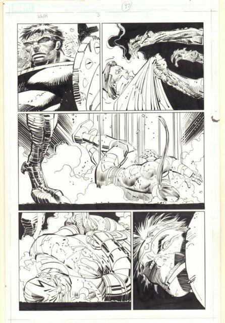 World War Hulk #3 P. 37 Hulk And Hiroim 2007 Art By John Romita Jr