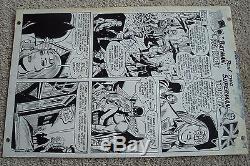 Worlds Finest #187 pg. 7 Batman Ben Franklin Esposito Andru Original Comic Art