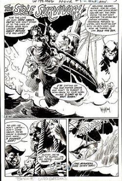 Wrightson, Bernie WITCHING HOUR 5 TITLE SPLASH PG 1 Original Art (1969)