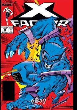 X-Factor #33 pg 6 Original Comic Art Walter Simonson Marvel 1988 Iceman