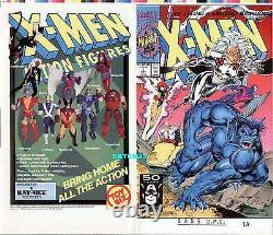 X-MEN #1 JIM LEE ORIGINAL PRODUCTION ART COVER PROOF MARVEL COMIC 1st ISSUE 1991