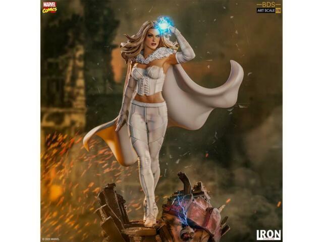 X-men Battle Diorama Series Emma Frost 1/10 Art Scale Statue