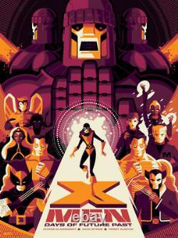 X-Men Days Of Future Past Variant Print by Tom Whalen Mondo Marvel Comics Art