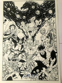 X-Men ORIGINAL ART