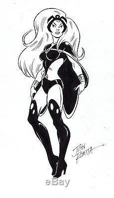 X-Men Storm Pin-Up Art by John Romita