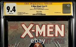 X-men Giant-size #1 Cgc Ss 9.4 Nm X-23 Original Art Sketch Wolverine Storm Rogue