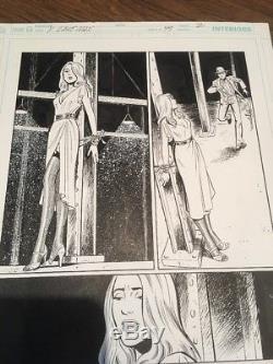 Y The Last Man ORIGINAL ART Pia Guerra Pages 1 2 3 Issue 49 Brian K Vaughan Saga